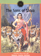 Amar Chitra Katha : The Sons of Shiva